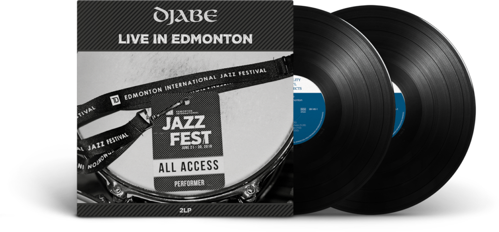 Djabe Live in Edmonton (2LP)