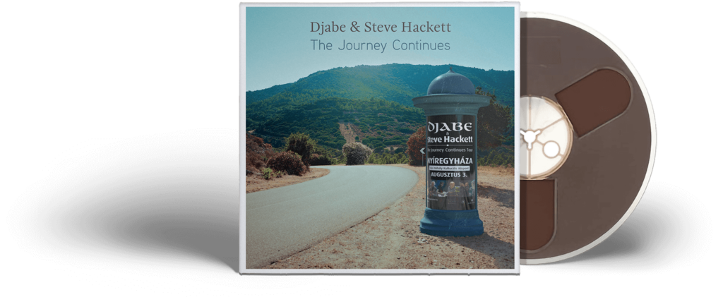 Djabe & Steve Hackett The Journey Continues (4 track reel-to-reel tape)