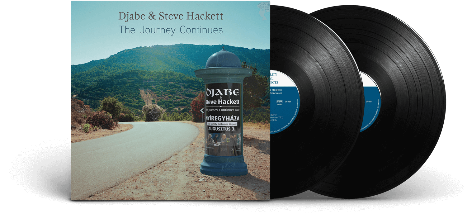 Djabe & Steve Hackett The Journey Continues (2LP)